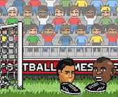 Big Head Fussball
