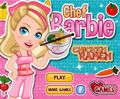 Chef Barbie Chicken Ramen