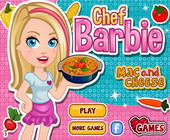 Chef Barbie Mac N Cheese