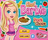 Chef Barbie Pork Chops