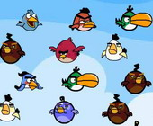 Couple Angry Birds