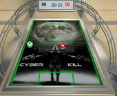 cyber air hockey