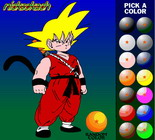 Dragon Ball Z anmalen