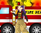 Firewoman Dress Up