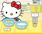 Hello Kitty Kuchen backen