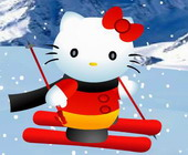 Hello Kitty Ski
