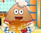 Pou Pfannkuchen backen