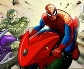 Spiderman Hill Racers affe